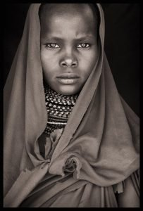 Turkana girl of Loiyangalani