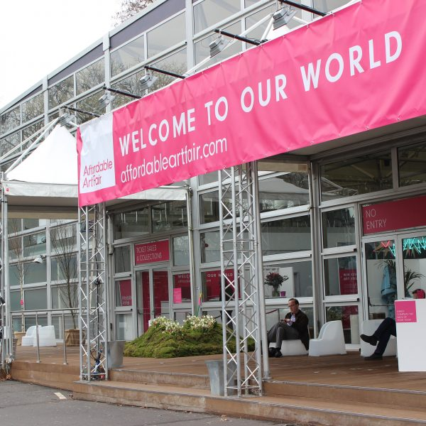 Affordable Art Fair Battersea Spring Entrance