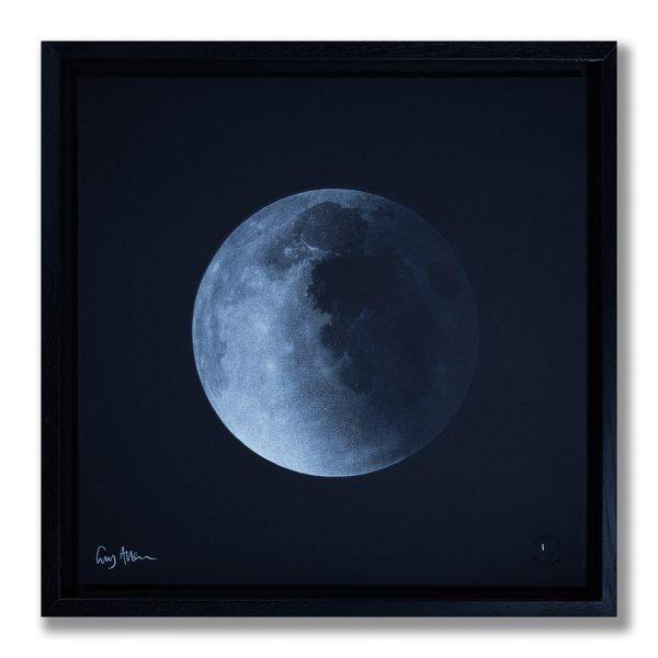 Waning Gibbous Moon - Framed