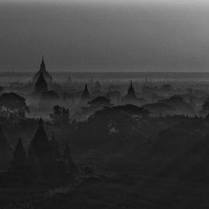 Bagan by moonlight