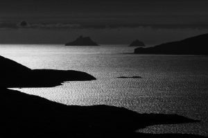 The Skelligs by moonlight